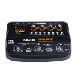 NUX  NUX MG-200 amp modeling processor with drum machine and phrase looper