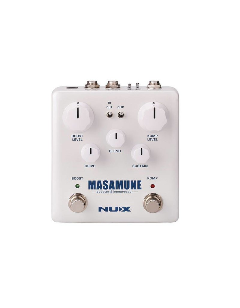 NUX  NBK-5 Verdugo Series analog compressor and boost MASAMUNE