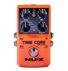 NUX  TIMECDLX Core Series delay/looper pedal TIME CORE DELUXE