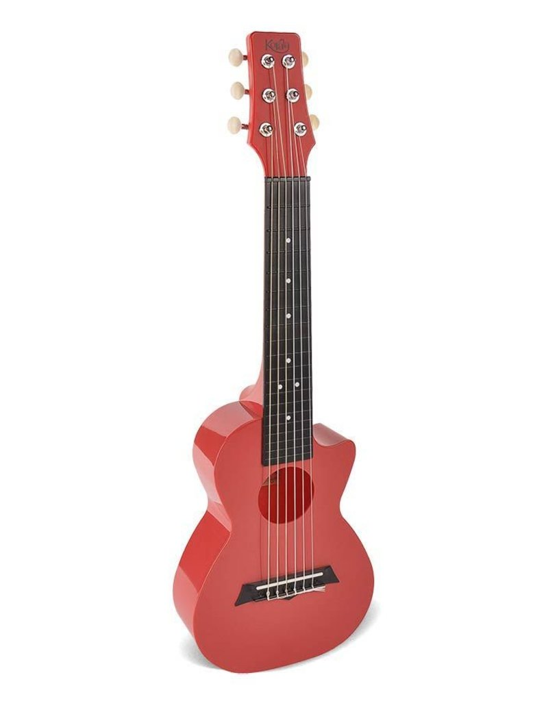 Korala PUG-40-RD  Poly Ukes polycarbonaat guitarlele