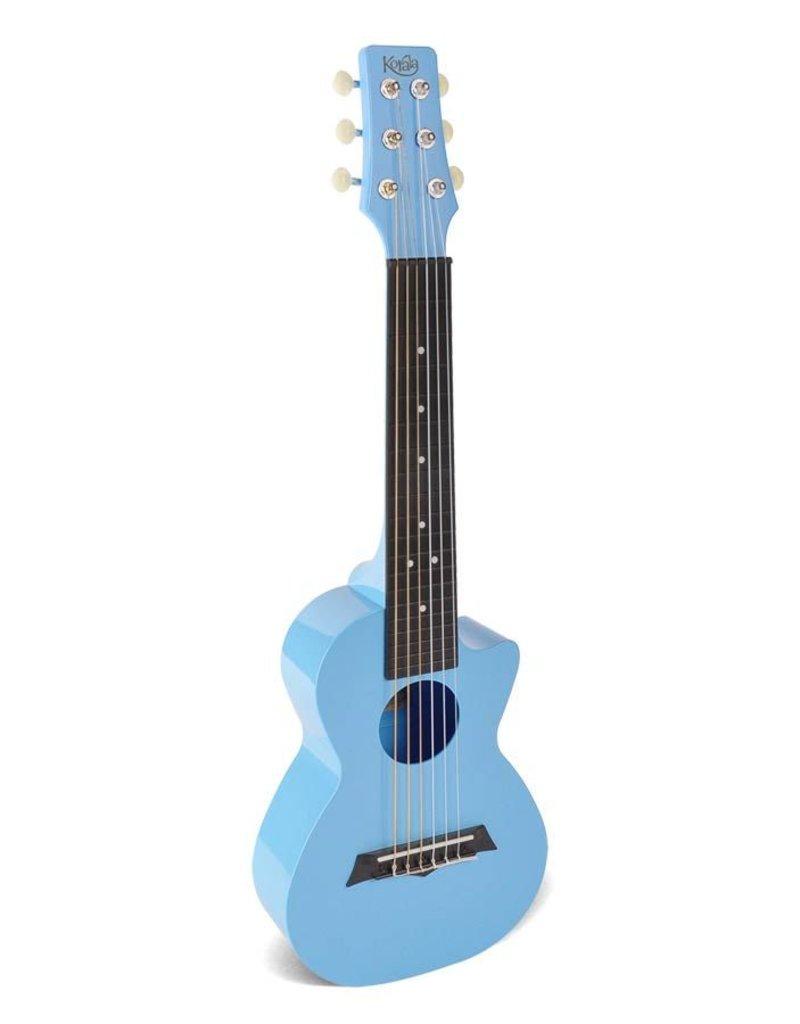 Korala PUG-40-LBU Poly Ukes polycarbonaat guitarlele