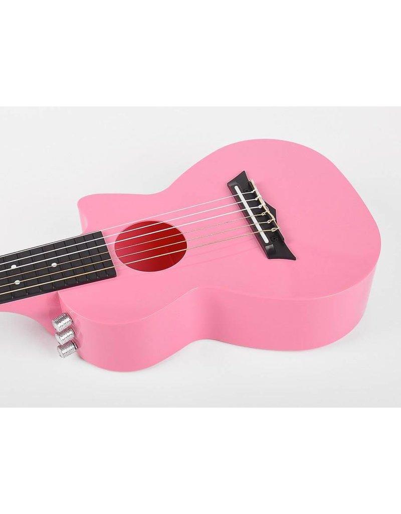 Korala PUG-40E-PK Poly Ukes polycarbonaat guitarlele
