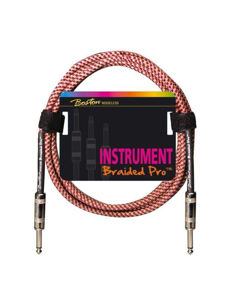 Boston  GC-264 Braided Pro instrumentkabel meerdere lengtes