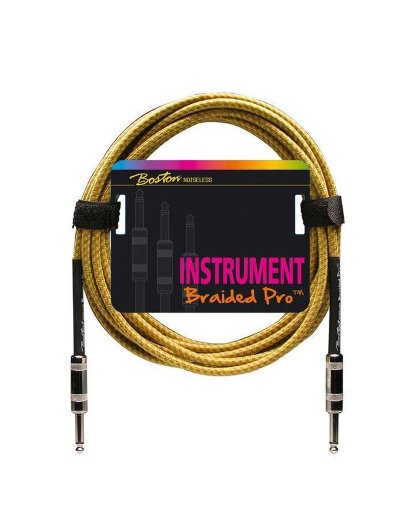 Boston  GC-262 Boston Braided Pro instrumentkabel meerdere lengtes