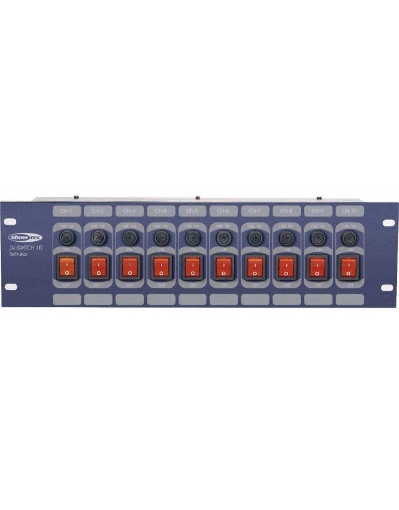 SHOWTEC Showtec DJ-Switch 10 schakelcontroller occasion