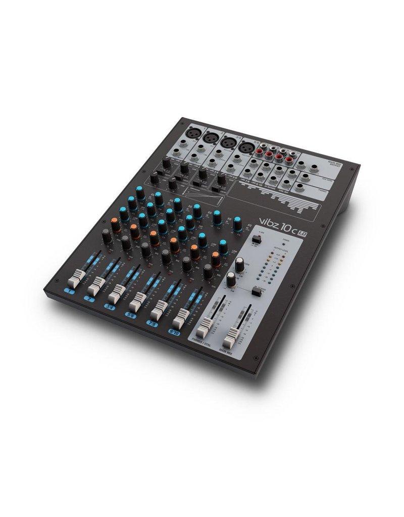 LD Systems VIBZ 10 C - 10 kanaal Mixer met Compressor