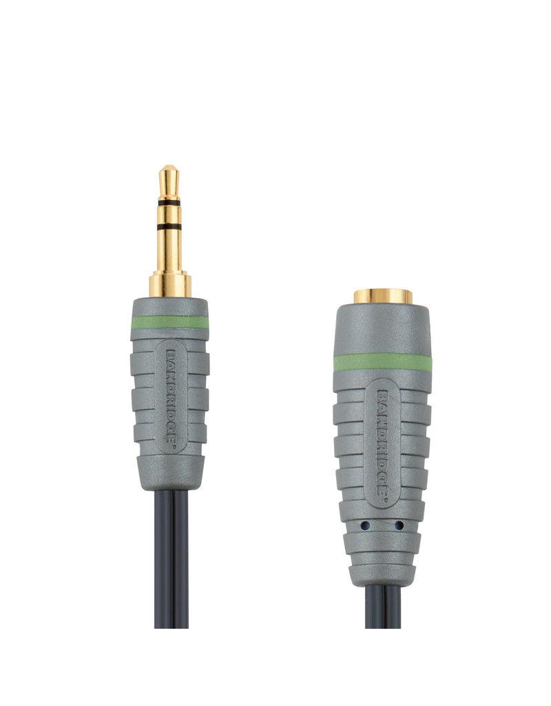 bandridge Stereo Audio Verlengkabel 3.5 mm Male - 3.5 mm Female meerdere lengtes