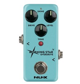NUX  NOD-3 | NUX Mini Core Series overdrive pedal MORNING STAR OVERDRIVE