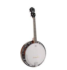 Richwood Richwood RMB-604-SS |Richwood Master Series tenor banjo 4-snarig
