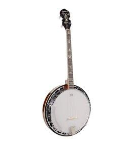 Richwood Richwood RMB-904 |Richwood Master Series tenor banjo 4-snarig. aluminium rim + tone ring