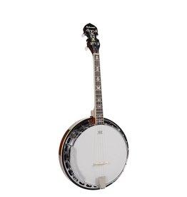 Richwood Richwood RMB-904-SS |Richwood Master Series tenor banjo 4-snarig. aluminium rim + tone ring