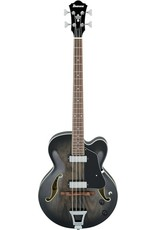 ibanez AFB 200-TKS Artcore Transparent Black Sunburst semi-akoestische bas gitaar