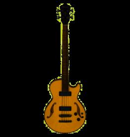 ibanez AGB200-NT Artcore Natural Black semi-akoestische bas gitaar