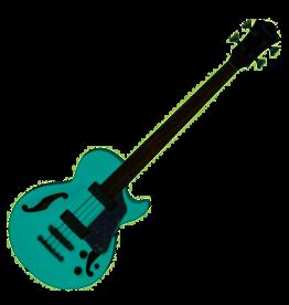 Ibanez  AGB260-SFG Artcore Sea Foam Green semi-akoestische bas gitaar