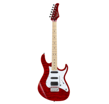 G250 Transparent Red elektrische gitaar