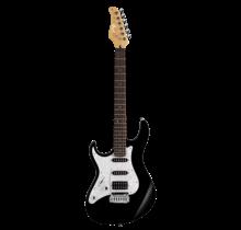 G250 Zwart linkshandige elektrische gitaar