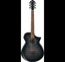 AEWC400 Transparent Black Sunburst High Gloss