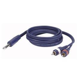 Dap Audio FL35 - Stereo Jack > 2x Tulp L/R
