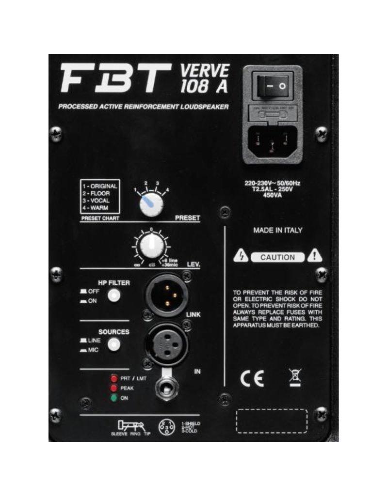 FBT VERVE 108 A Actieve PA speaker OUTLET
