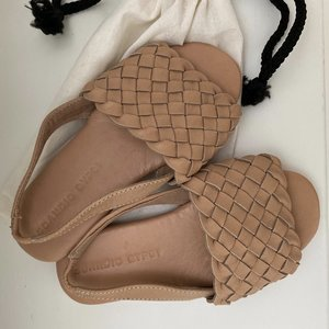 Scandic Gypsy Scandic Gypsy woven slides kids - Nudie