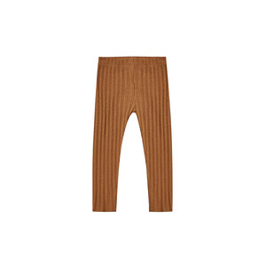 Rylee + Cru Ribbed Legging Cinnamon