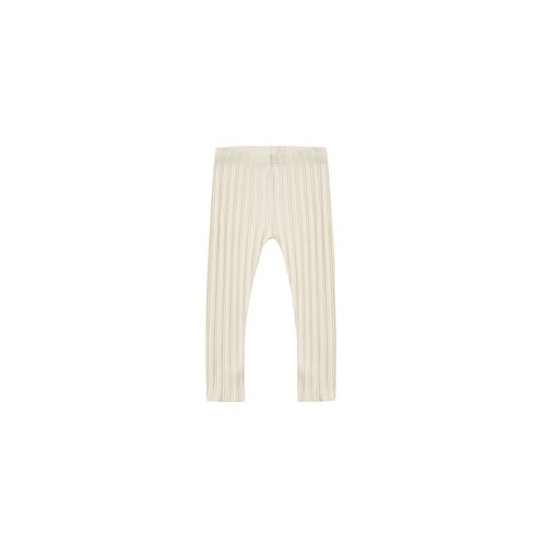 Rylee + Cru Ribbed Legging Natural