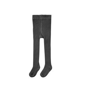 Rylee + Cru Rib Knit Tights Vintage Black