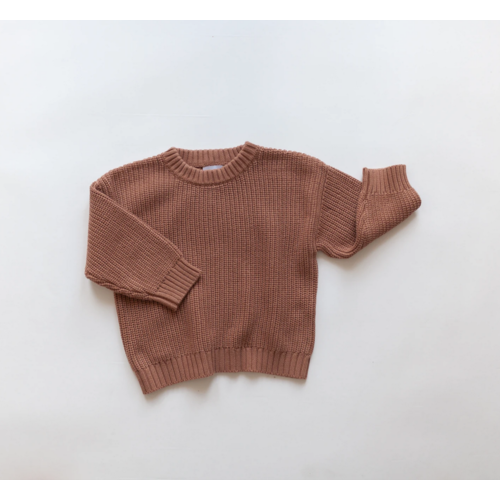KINDLY Chunky knit sweater KID - Claypot