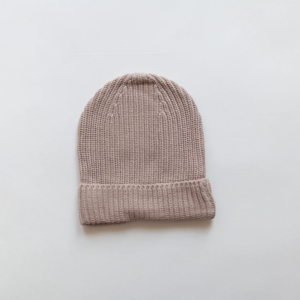KINDLY Chunky knit beanie ADULT - Hazelnut