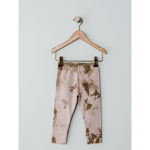 The Simple Folk The Tie-Dye Legging - blush