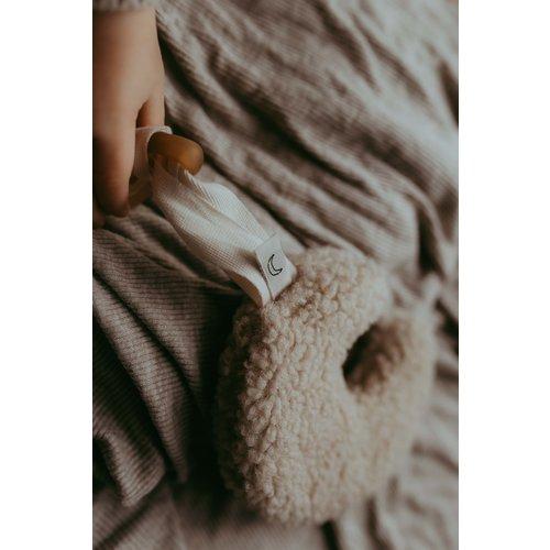 Dappermaentje Maentje teddy beige