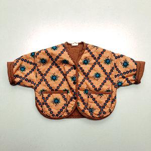 Bon Bon Butik Quilted jacket - Camel