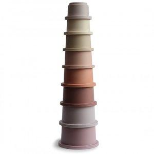 Mushie Mushie- Stacking cups - Pastel