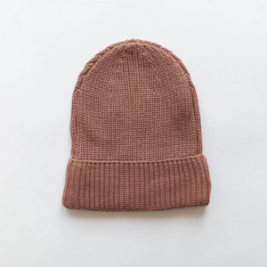 KINDLY Chunky knit beanie KID - Claypot
