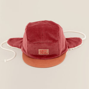 New Kids in the House Robin winter cap - cranberry