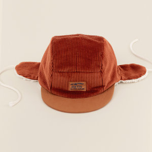 New Kids in the House Robin winter cap - rooibos