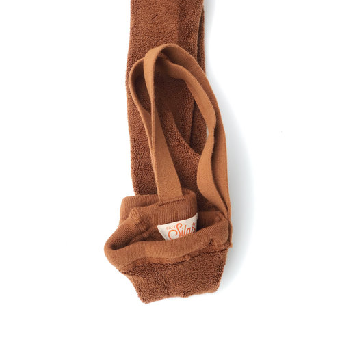 Silly Silas Warmy Tights with braces  - Cinnamon