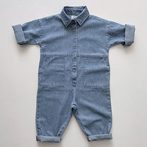 The Simple Folk The Denim Boiler Suit