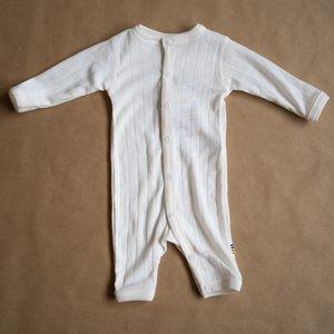 Joha Jumpsuit wol- zijdemix - Naturel