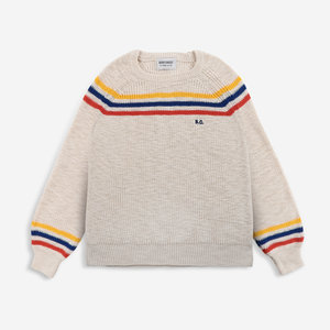 BOBO CHOSES BC stripes jumper