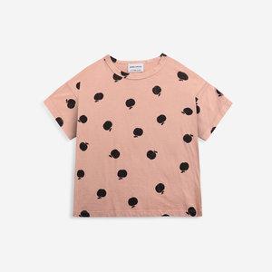 BOBO CHOSES Poma allover short sleeve T-shirt
