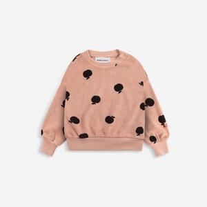 BOBO CHOSES Poma allover terry sweatshirt