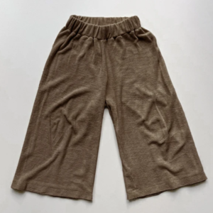 The Simple Folk The Wide leg terry trouser - Walnut
