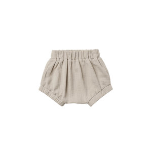 Quincy Mae Woven bloomer - Ash