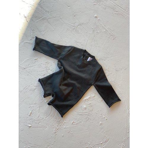 By Billie By Billie Yoko knit romper - Ash black