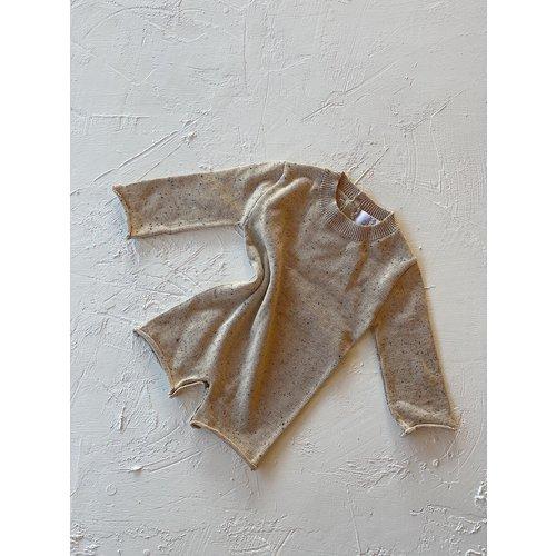 By Billie By Billie Yoko knit romper - mottled beige