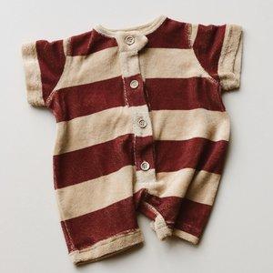 Daily Brat Daily Brat Sammy towel suit - stripes