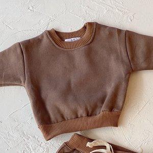 By Billie By Billie Signature Fleece sweater - chocolate