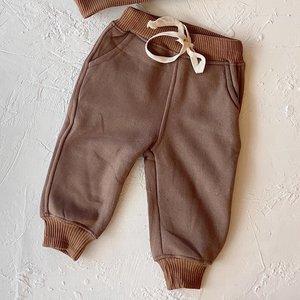 By Billie By Billie Signature Fleece pants - chocolate