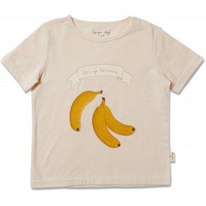 Konges Sløjd Konges Sløjd - Famo Tee - Champagne Banana